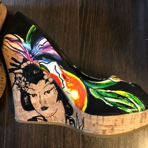 Wedges Ed Hardy